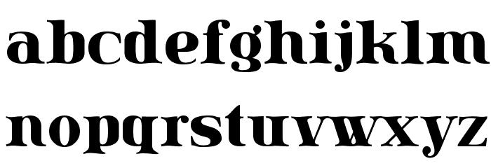 Lissain Шрифта строчной