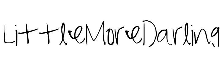 LittleMoreDarling  免费字体下载