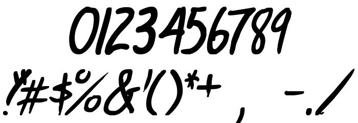 life signals Italic 字体 其它煤焦