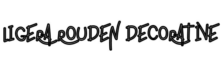 ligera rouden Decorative  Free Fonts Download