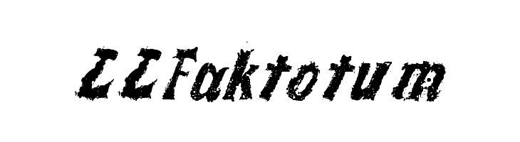 LLFaktotum  Free Fonts Download