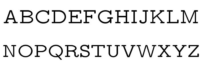 LMMonoProp10-Regular Font UPPERCASE
