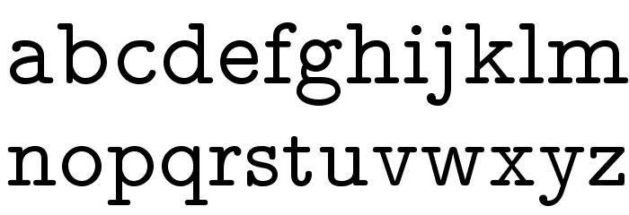 LMMonoProp10-Regular Font LOWERCASE