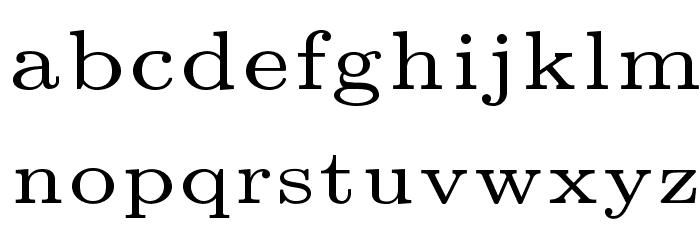 LMRoman5-Regular Font LOWERCASE