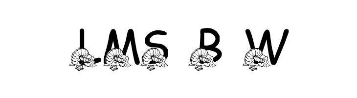 LMS Beach Wedding  Free Fonts Download