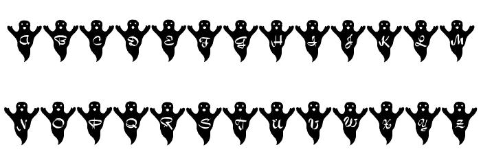 LMS Spooky Speller Font UPPERCASE