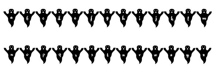 LMS Spooky Speller Font LOWERCASE