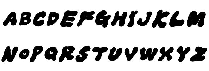 LOVELOVE_Iyan Font UPPERCASE