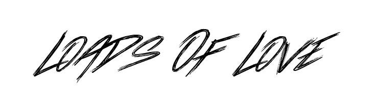 Loads Of Love  les polices de caractères gratuit télécharger