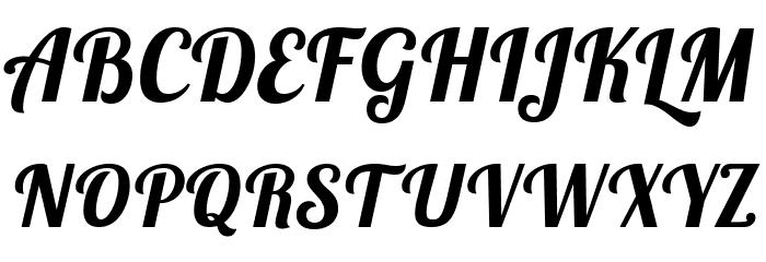 lobster bold italic font