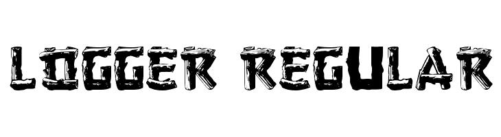 Logger Regular  Free Fonts Download