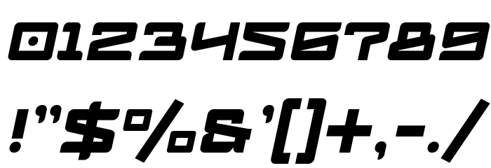 Logofontik 4F Italic Fonte OUTROS PERSONAGENS