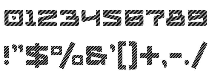 Logofontik Stripes 4F Fonte OUTROS PERSONAGENS