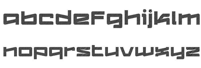 Logofontik Stripes 4F Fonte MINÚSCULAS