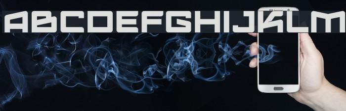 Logofontik4F Fonte examples