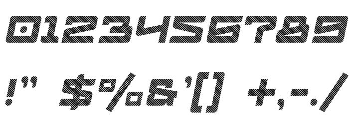 LogofontikStripes4F-Italic Fonte OUTROS PERSONAGENS