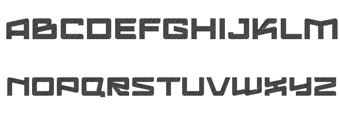 LogofontikStripes4F Fonte MAIÚSCULAS