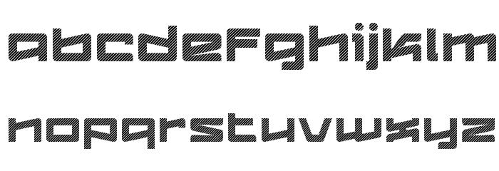 LogofontikStripes4F Fonte MINÚSCULAS