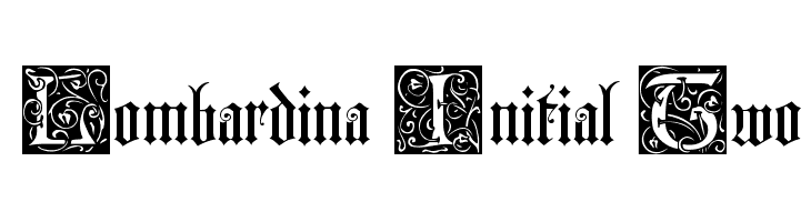 Lombardina Initial Two  Free Fonts Download
