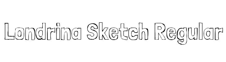 Londrina Sketch Regular  baixar fontes gratis
