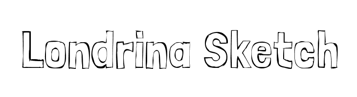 Londrina Sketch  Free Fonts Download