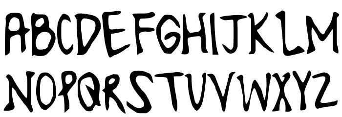LonesomeFont Font LOWERCASE
