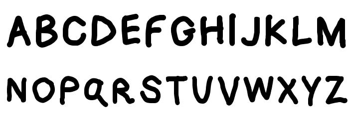 Loogie Hawk Font UPPERCASE