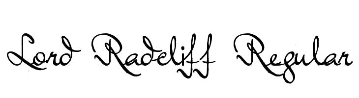 Lord Radcliff Regular  Free Fonts Download