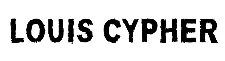Louis Cypher  免费字体下载