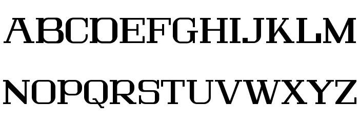 Lousitania Font UPPERCASE
