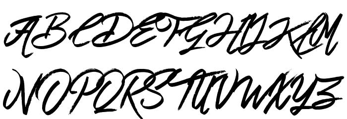 Love Rock Font UPPERCASE