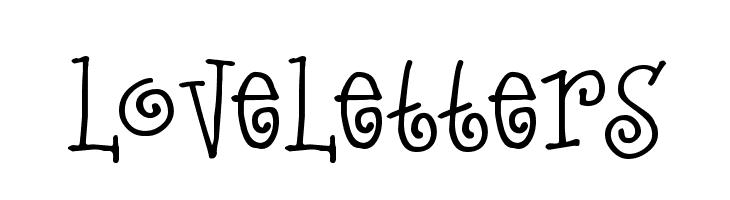 LoveLetters  baixar fontes gratis