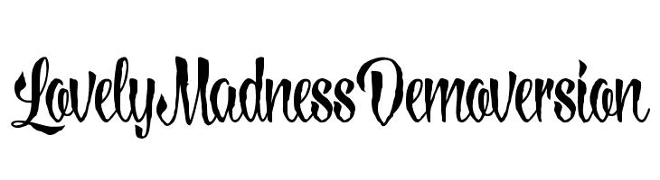 LovelyMadness_Demoversion  لخطوط تنزيل