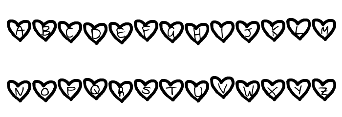 Loving you is another story. Font UPPERCASE