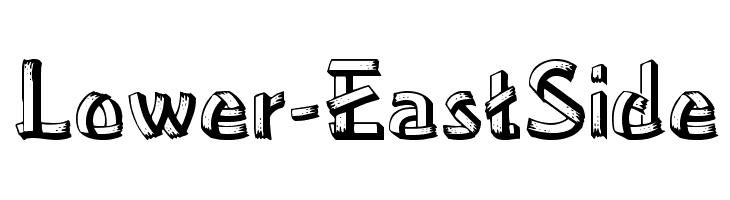 Lower-EastSide  नि: शुल्क फ़ॉन्ट्स डाउनलोड