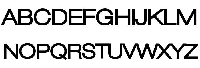 Lowvetica Ultra Bold Font UPPERCASE