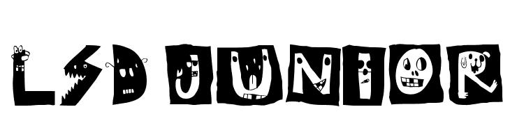 LSD junior  नि: शुल्क फ़ॉन्ट्स डाउनलोड