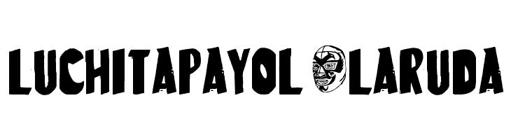 LuchitaPayol-LaRuda  Free Fonts Download