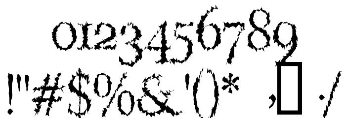 LucifersPension Roman لخطوط تنزيل حرف أخرى