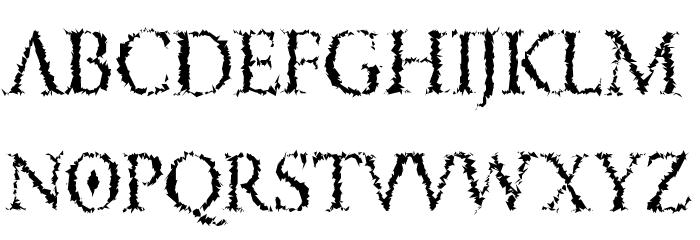 LucifersPension Roman لخطوط تنزيل الأحرف الكبيرة