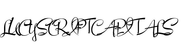 LucyScriptCapitals  لخطوط تنزيل