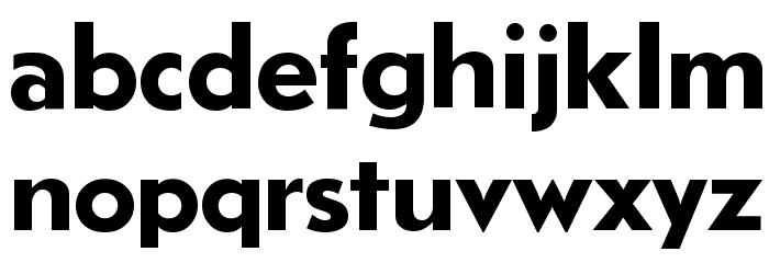 LudlowTempoBold Font LOWERCASE