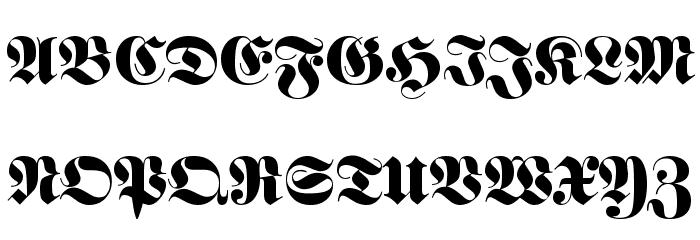 Luftwaffe Regular Font UPPERCASE
