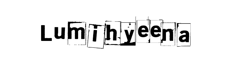 Lumihyeena  baixar fontes gratis
