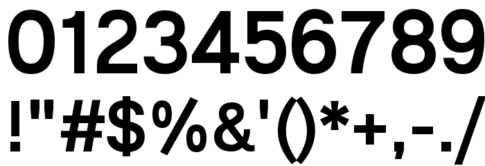 Lunchtype21 Medium Font OTHER CHARS