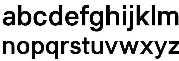 Lunchtype21 Medium Font LOWERCASE