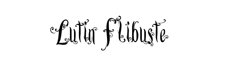 Lutin Flibuste  font caratteri gratis