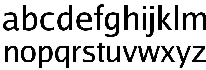 Luxi Sans Regular Font LOWERCASE