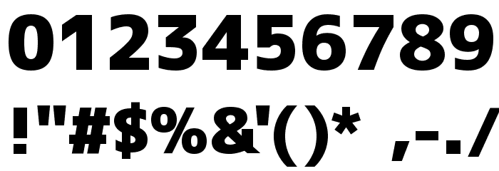 M+ 1c black Font OTHER CHARS