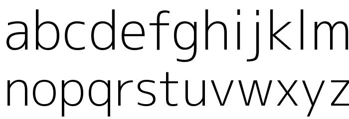 M+ 1c light फ़ॉन्ट लोअरकेस